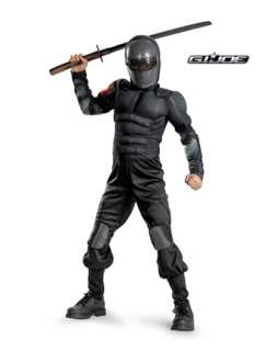 Boys Classic Muscle G.I. Joe Snake Eyes  Wholesale Military Halloween