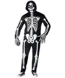 Fright Light Skeleton Costume for Adults  Skeleton Halloween Costume