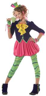 Mad Hatter Halloween Costume for Tween Girls
