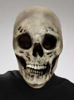 costumes in shopping cart skull scary mask