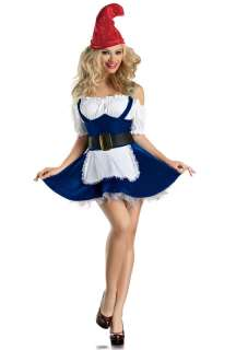 Sexy Gnome Plus Size Costume for Halloween   Pure Costumes