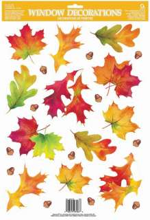 Autumn Breeze Window Clings (1 sheet)     1629307