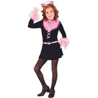 Child Marabou Cat Costume   Your kid will purr her way into everyones