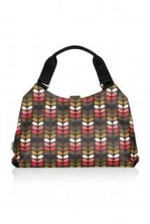 Red Mini Stem Print Shoulder Bag by Orla Kiely   Red   Buy Bags Online
