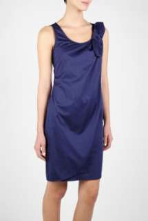 Love Moschino  Cotton Knot Shoulder Dress by Love Moschino