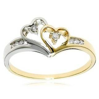27Ct. 14K. White Gold Heart Shape Diamond Engagement Ring Jewelry