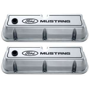 302 030 Ford Mustang Aluminum Valve Covers Polished Automotive