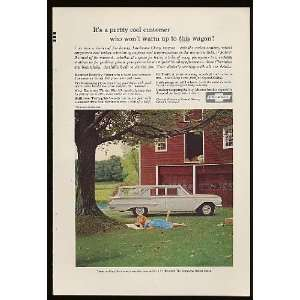 1960 Chevy Kingswood Station Wagon Print Ad (7649)