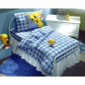 LOONEY TUNES   Tweety Bird Blues   SHEET SET   Toddler Size   Girls