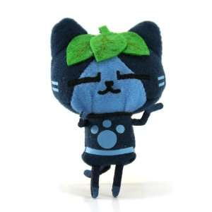 Banpresto Monster Hunter 2011 Plush Strap Blue Leaf Airu