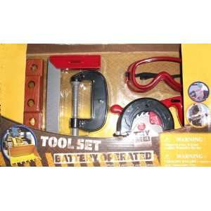 Battery Operated Tool Set  Toys & Games