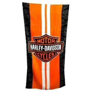 Harley Davidson Motorcycles Bike Manufacturer Adult Beach Towel
