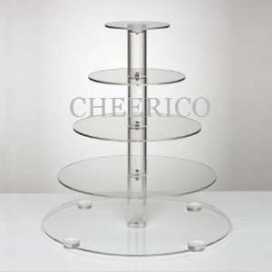 Acrylic Cupcake Stand Tree Tower Cup Cake Display