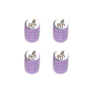 Fantasy   Tire Rim Wheel Valve Stem Caps   Purple: Automotive