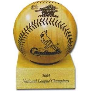 St. Louis Cardinals 2004 National League Champions Laser