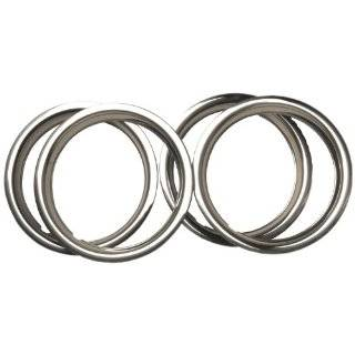 14 Chrome Plated Stainless Steel Beauty Trim Ring