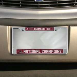 NCAA Alabama Crimson Tide 2011 BCS National Champions Domed Chrome