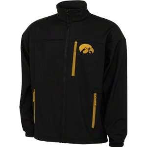 Iowa Hawkeyes Black Columbia Give Em 6 Softshell Jacket