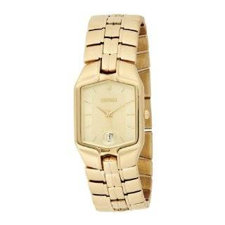 FG1042 Austrian Crystal Accented Solid Link Bracelet Watch Watches