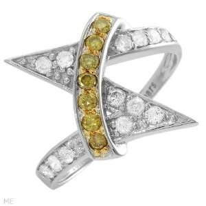 Ctw Si2 Si3 Color I J Diamonds Gold Ring   Size 7 CleverEve Jewelry