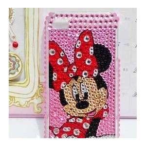 Apple iPhone 4G Bling Bling Minnie Mouse Full Diamond