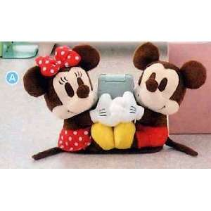 Disney Character Mini Pair Cell Phone Mascot   (A) Mickey