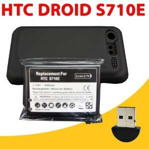 3500mAh Extended Battery + Cover + Wireless Bluetooth Dongle Adapter