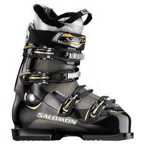 Salomon Mission 6 Ski Boots Black/Nickeltranslucent