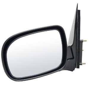 2L00 Chevrolet Venture Black Manual Replacement Driver Side Mirror