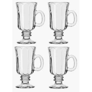Home Essentials 80502 Farberware Irish Coffee Glasses 4 Pack   Case of