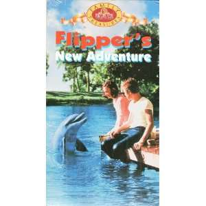Flippers New Adventure [VHS] Luke Halpin, Pamela