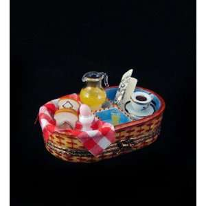 French Breakfast Basket French Limoges Box Home & Kitchen