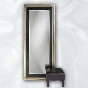 Dawson Leaner Mirror and Ottoman Set Furniture & Decor