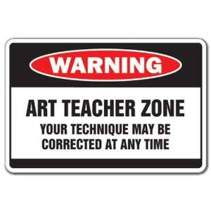 ZONE  Warning Sign  school supplies paint Patio, Lawn & Garden