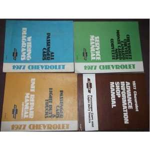 Chevrolet CHEVY CORVETTE Service Repair Shop Manual Set FACTORY OEM