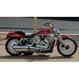Harley Davidson Style Motor Bike w/ Lights & Sounds (Red) Toys