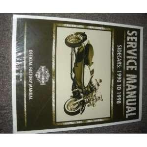 1996 1997 1998 Harley Davidson Sidecars Service Manual: honda: