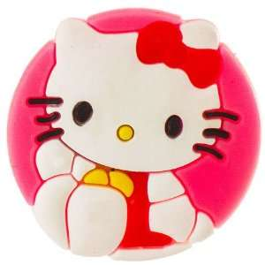 Jewelry Making Hello Kitty circular croc charm Arts, Crafts & Sewing
