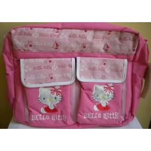 Hello Kitty Multi functional Diaper Tote Bag   Pink