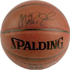 Magic Johnson Autographed Indoor/Outdoor Basketball: Sports & Outdoors