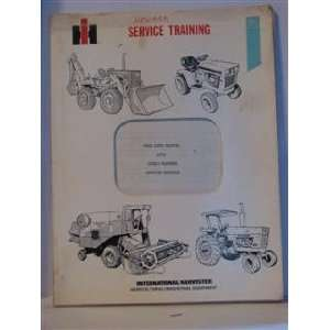 international harvester service training 1974 cyclo