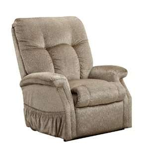 Three Way T Back Reclining Lift Chair Stampede Mocha