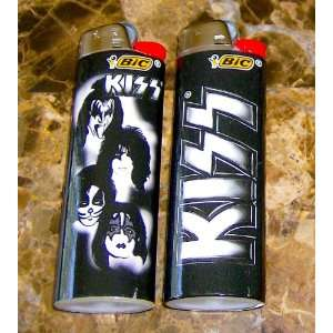 BIC KISS ROCK BAND FULL SIZE LIGHTERS