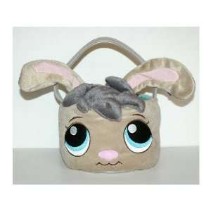 Littlest Pet Shop Plush Bunny Basket: Toys & Games