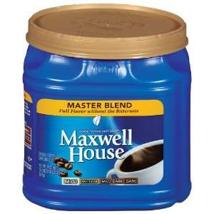 Maxwell House Coffee, Master Blend, 34.5 oz (Pack of 4)