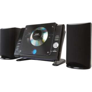 Coby CXCD380 Micro CD Player Stereo System with PPL AM/FM
