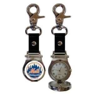 New York Mets Clip On Sport Watch   MLB Baseball Fan Shop Accessories