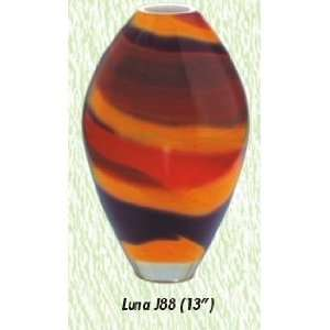 Luna Vase Hand Blown Modern Glass Vase