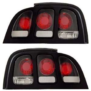 FORD MUSTANG 94 98 TAIL LIGHT BLACK NEW Automotive