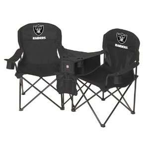 Oakland Raiders NFL Deluxe Folding Conversation Arm Chair